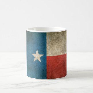 Vintage Distressed Flag of Texas Coffee Mug