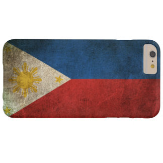Vintage Distressed Flag of The Philippines Barely There iPhone 6 Plus Case