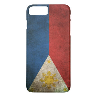 Vintage Distressed Flag of The Philippines iPhone 7 Plus Case
