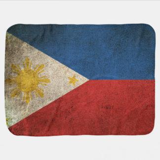 Vintage Distressed Flag of The Philippines Stroller Blanket