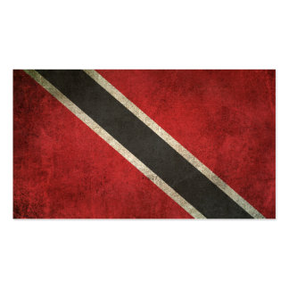 Vintage Distressed Flag of Trinidad and Tobago Business Card