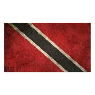 Vintage Distressed Flag of Trinidad and Tobago Business Card