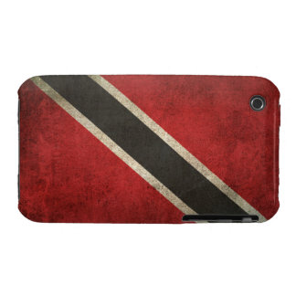 Vintage Distressed Flag of Trinidad and Tobago iPhone 3 Case-Mate Cases