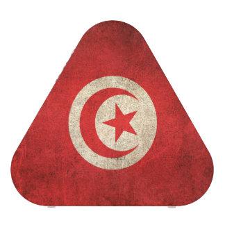 Vintage Distressed Flag of Tunisia Speaker