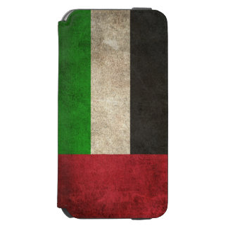 Vintage Distressed Flag of United Arab Emirates Incipio Watson™ iPhone 6 Wallet Case
