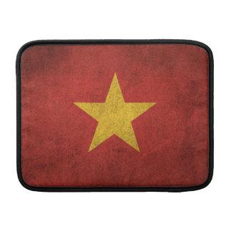 Vintage Distressed Flag of Vietnam MacBook Air Sleeve