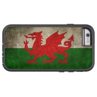 Vintage Distressed Flag of Wales Tough Xtreme iPhone 6 Case