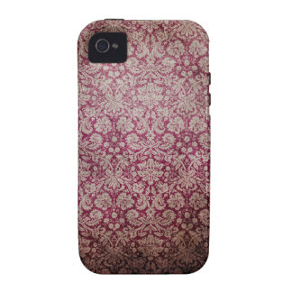 Vintage Distressed Grunged Pattern Case For The iPhone 4