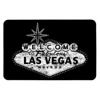 Vintage Distressed Las Vegas Sign Magnet