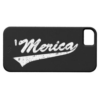 Vintage Distressed 'MERICA iPhone 5 Case
