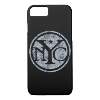 Vintage Distressed NYC Logo iPhone 7 Case