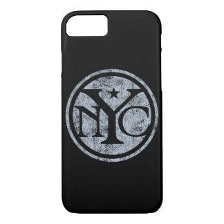 Vintage Distressed NYC Logo iPhone 7 Case