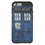 Vintage Distressed Public Call Box iPhone 6 case