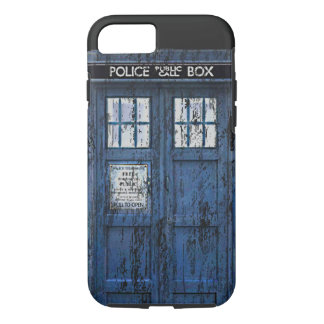 Vintage Distressed Public Call Box iPhone 7 case