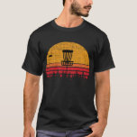 """Vintage Distressed Retro Frisbee Disc Golf T-Shirt<br><div class=""""desc"""">Do you play disc golf? If so, this vintage distressed retro frisbee disc golf t-shirt tee gift is the perfect gift for anyone who loves throwing the frisbee around. This funny disc golf shirt is for anyone that like banging chains with their frisbee. If you are looking for a great...</div>"""