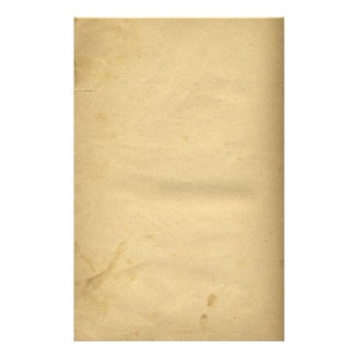 Vintage Distressed Stained Paper Stationery