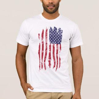 Vintage Distressed Tattered U.S. Flag Shirt