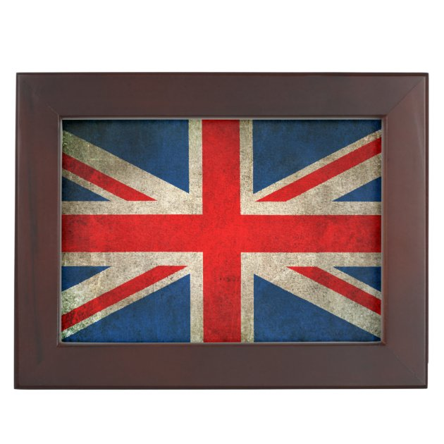 Old and Worn Distressed Vintage Union Jack Flag iPhone 11 case