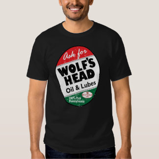 Vintage distressed Wolfs Head sign T-Shirt