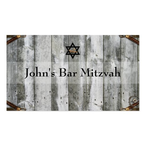 Vintage Distressed World Travel Place Cards Business Cards