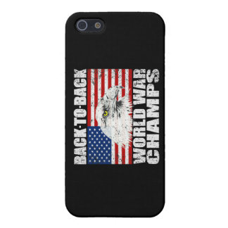 Vintage Distressed World War Champs Case For iPhone SE/5/5s
