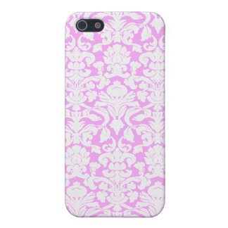 Vintage Divine Damask Pink Cover For iPhone 5