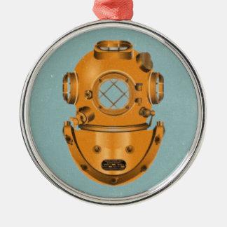 Vintage Diving Bell Metal Ornament
