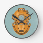 Vintage Diving Bell Wall Clocks