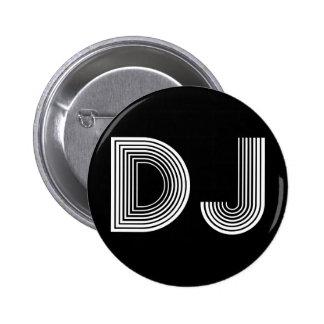 vintage DJ 2 Inch Round Button