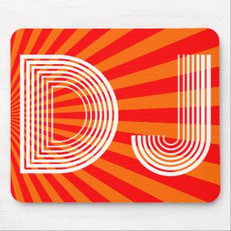 vintage DJ Alfombrillas De Ratones