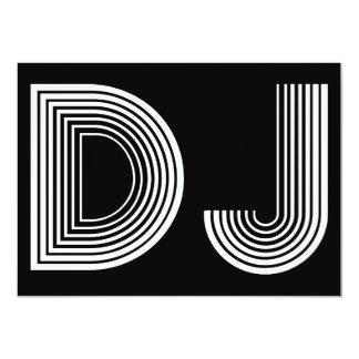 vintage DJ Card