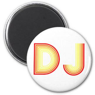 vintage DJ Magnet
