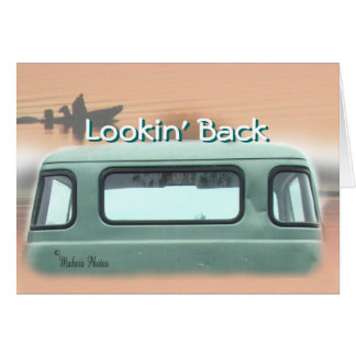 vintage Dodge Pickup Truck #3- customize Card