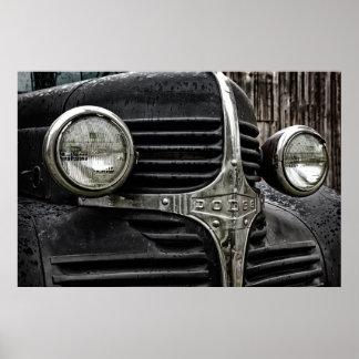 Vintage Dodge Poster