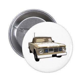 Vintage Dodge Truck Pinback Buttons