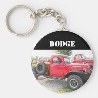 Vintage Dodge Truck Keychain
