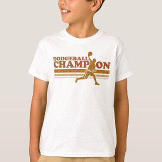 Vintage Dodgeball Champion Kids T-Shirt