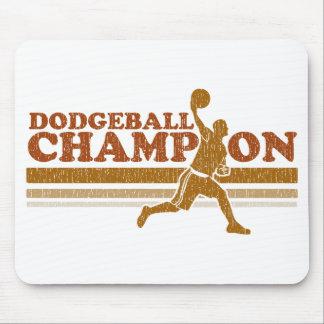 Vintage Dodgeball Champion Mouse Mat