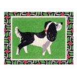Vintage Dog Art Postcard