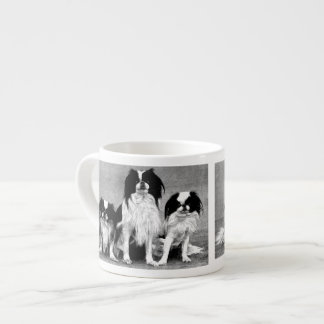 Vintage Dog Design Espresso Mug