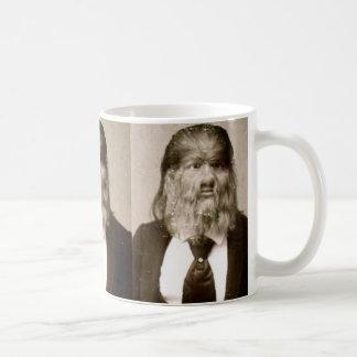 "Vintage ""Dog Faced Man"" Classic White Coffee Mug"