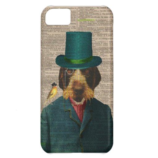 Vintage Dog Illustration IPhone 5 Case