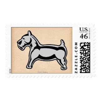 Vintage Dog Stamp