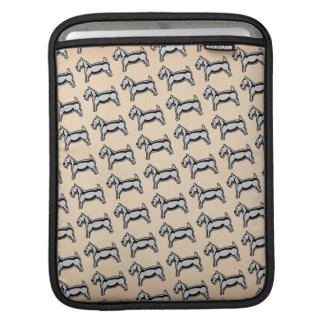 Vintage Dog Sleeve For iPads