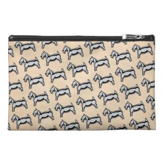 Vintage Dog Travel Accessory Bag