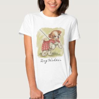 Vintage Dog Walker T-Shirt