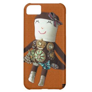 Vintage Doll Edna iPhone 5 Case-Mate Case