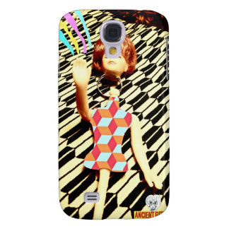 vintage doll galaxy s4 cover