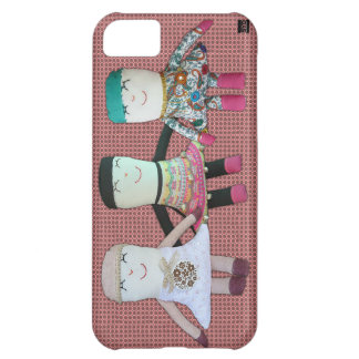 Vintage Doll Girlfriends iPhone 5 Case-Mate Case