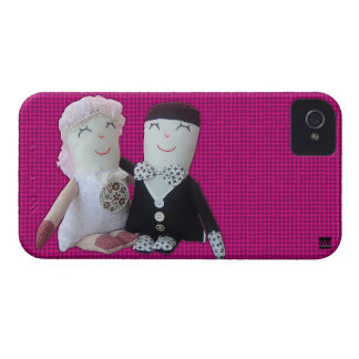 Vintage Doll Newlywed iPhone 4 Case-Mate Case